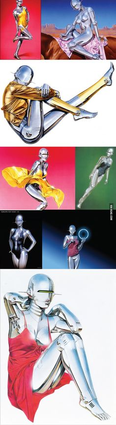 Hajime Sorayama - The man who put the curves to robots