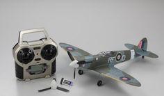 New 1/24 Kyosho Spitfire Mk.V Ready Set 10753RS-MK5 From Japan 175 #Kyosho