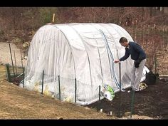 How to Build a high tunnel to protect your plants « Gardening