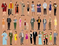 New York City-based artist Dyna Moe has created a terrific series of illustrations based on season five of the hit AMC television series, Mad Men.