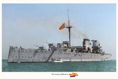 Canarias heavy cruisers (1936) Spanish Navy.