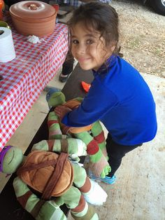 Never go camping without your Ninja Turtles