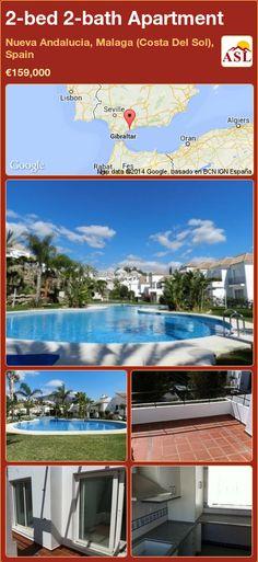 2-bed 2-bath Apartment in Nueva Andalucia, Malaga (Costa Del Sol), Spain ►€159,000 #PropertyForSaleInSpain