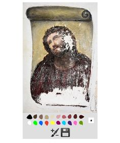 A Website That Lets You Restore Your Own 'Valuable Artwork Of Jesus' - DesignTAXI.com