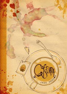 Image of Cafe Suada Cup 1 Vintage World Maps, Comics, Image, Prints, Cartoons, Comic, Comics And Cartoons, Comic Books, Comic Book