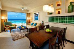 One-Bedroom Premium Villa Dining & Living Room [Furnishings may vary]