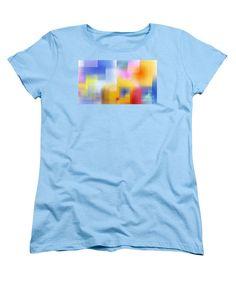 Women's T-Shirt (Standard Cut) - Happy Pattern