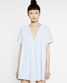 Image 4 of LOW-CUT JUMPSUIT DRESS from Zara