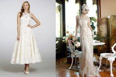 Abiti da sposa d'ispirazione vintage, modelli e tendenze del 2014