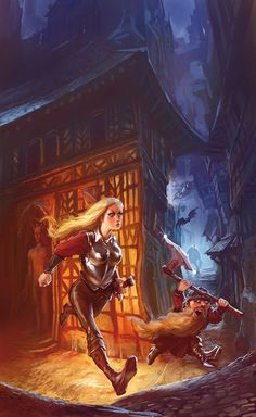 Sir Terry Pratchett 's Discworld by marc simonetti, via Behance