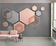 Acrylic Mirror Wall Stickers Circle Modern Room Background Wall Decor #KY