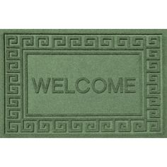 Commercial grade floor mat made with 24-oz. anti-static polypropylene.