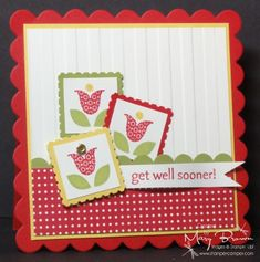 Summer Smooches by stampercamper - Cards and Paper Crafts at Splitcoaststampers
