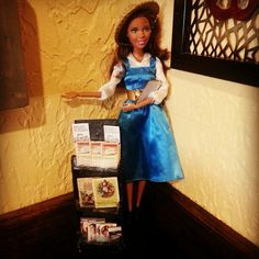 Jw.org public witnessing Jehovah witness barbie Handmade cart by my daughter.