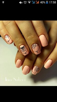 Having short nails is extremely practical. The problem is so many nail art and manicure designs that you'll find online Nail Art Design Gallery, Best Nail Art Designs, Indian Nail Designs, Awesome Designs, Nail Manicure, Toe Nails, Nail Polish, Nail Deco, Indian Nails