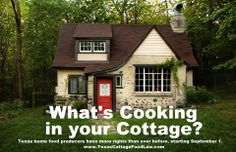 Texas Cottage Food Law for those people selling homemade food from home.