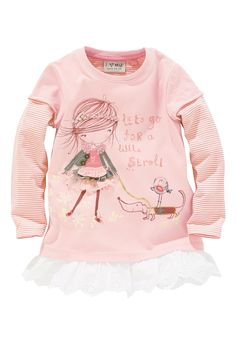 Buy Embellished Girl Tunic (3mths-6yrs) from the Next UK online shop
