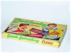 Spielesammlung Vintage alt von ZeitSprungVintage