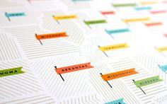 American Flags Map by Jen Adrion + Omar Noory