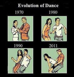 Evolution of Dance ! LOL