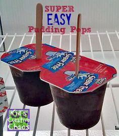 Homemade Pudding Pops Recipe