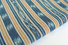 Stripe Fabric  Ethnic Fabric  Ikat Fabric  Cotton by TextileSupply, $16.00