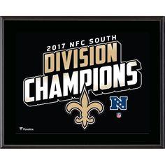 promo code 060d5 4eeca New Orleans Saints Fanatics Authentic 10.5  x 13