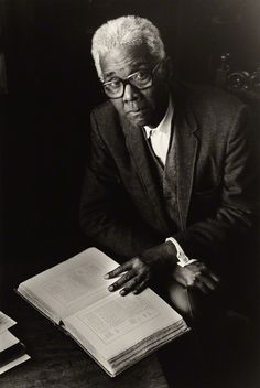 Cyril Lionel Robert James, Historian born in Trinidad (1901-1989), author of The Black Jacobins, by Val Wilmer, for Format Photographers, 31 December 1975  © Val Wilmer
