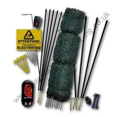 Hotline Electric Fencing Kit - 16M Poultry Kit with Hot Gate - £186.00 inc. VAT