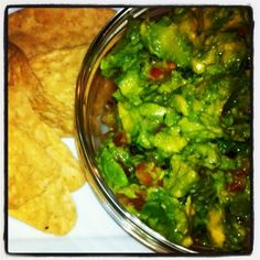 Recipe for the best guacamole ever