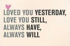 Always have, always will.