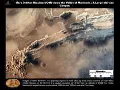 Valles Marineris from India's Mars Mission. Credit: ISRO