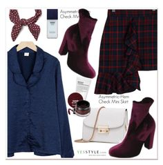 """""""YesStyle - 10% off coupon"""" by paculi ❤ liked on Polyvore featuring Goroke, Hera, yesstyle and prefall"""