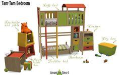 Around the Sims, Around the Sims 4   TamTam Bedroom
