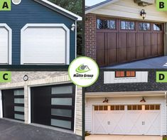 Single Door? Double Door? Windows? Garage doors can come in a variety of styles and colours giving the front of a home a personal touch! What's your favourite garage door style?👀🚗 The Mullin Group 519-941-5151 #mullingroup #onthemove #garagedoors #whatwouldyourather #orangeville #wwyr #mullingroupwwyr #orangevillerealestate #realestate #royallepagercr