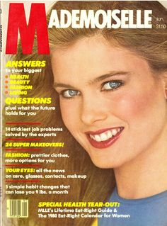Mademoiselle Magazine January 1980 Barbara Neumann Cover Very good condition Articles include: Answers To Your Biggest Health, Beauty, Beauty Ad, Fashion Beauty, Kim Alexis, 80s Ads, Mademoiselle Magazine, Glamour Magazine, Magazine Articles, Vintage Magazines, Pretty Outfits