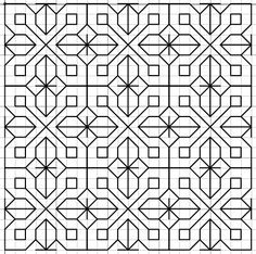 Imaginesque: Blackwork Embroidery: Fill Patterns