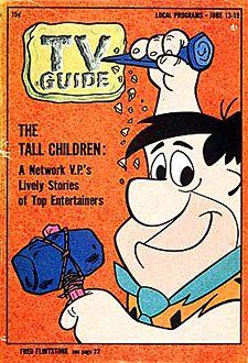 TV Guide, June 1964 - Fred Flintstone JK NOTE: The boys watching the Phillies game in Swoon would all be fans of The Flintstones. Vintage Cartoon, Vintage Tv, Cartoon Tv, Cartoon Humor, Vintage Stuff, Cartoon Characters, Vintage Items, Old Cartoons, Classic Cartoons