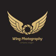 Plantilla de logo de alas Vector Gratis