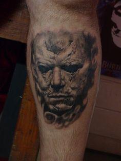 Michael Myers Tattoo by ACrowley.deviantart.com on @deviantART