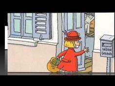 Chapeau rond rouge, de Geoffroy de Penmart 7:13 Résumé: Il était une fois une petite fille qui vivait avec ses parents à l'orée de la forêt. Comme elle ne quittait jamais le chapeau rond et rouge que lui avait offert sa grand-mère, on l'avait surnommée Chapeau rond rouge... (film)
