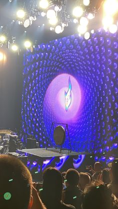 TOOL's stage after a perfect performance in Gila River Arena, Az. 2020