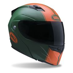 The Bell Revolver EVO Helmet is versatility defined and is jam packed with features like multiple shell sizes, speaker pocket cut outs for bluetooth communicator compatibility and an integrated drop down sun visor. The Bell Revolver Helmet can also accommodate the Bell Transitions SolFX Photochromatic Face Shield (sold separately), taking this already competent touring helmet to the next level!