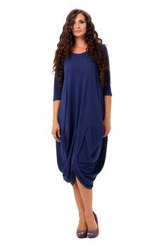 Rochie Tulip R024 BLU Tulips, Cold Shoulder Dress, Free, Dresses, Fashion, Gowns, Moda, La Mode, Dress