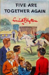 Enid blyton! The BEST children's author ever. Famous Five 1962