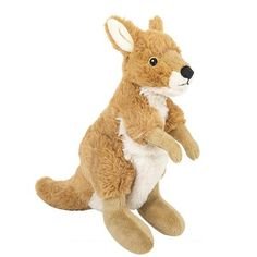 WHAT'S INCLUDED: From a realistic design and distinctive facial markings, this Kangaroo stuffed animal is simply irresistible! This plush Kangaroo is huggable, hand-washable, soft, shed-free and eco-friendly!  Made from high quality acrylic, recycled polyester filling and stitched eyes and nose for added safety!  	 DIMENSIONS: Measuring at 7.5 Inches, our adorable Kangaroo stuffed animals are comfortable and soft to the touch! The perfect size for at home and take on the go play!  	…