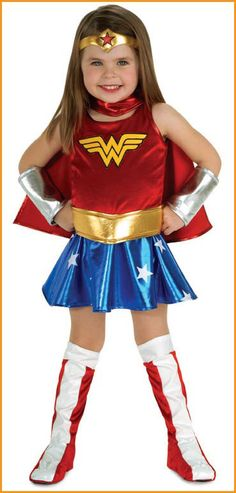 Wonder Woman Costumes Toddlers - For my niece <3