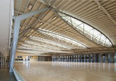 ASB Sports Centre / Tennent + Brown Architects