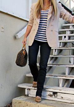 Light colored blazer inspiration