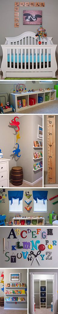 Awesome Disney & Toy Story Inspired Nursery! Includes DIY tutorials and shopping lists!
